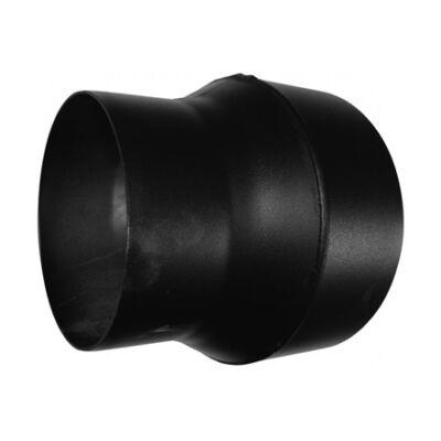 KoloTech fekete füstcső bővítő 160-200 mm