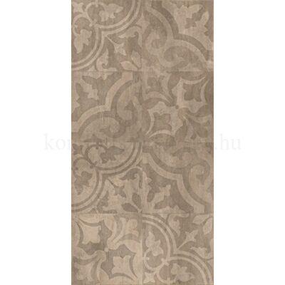 Golden Tile Kendal brown ornament padlódekor