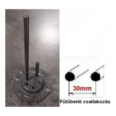 Hajdu Z típusú bojler zárólap alaplap 2 csöves