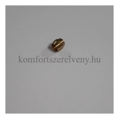 Fég roppantógyűrű réz 4mm