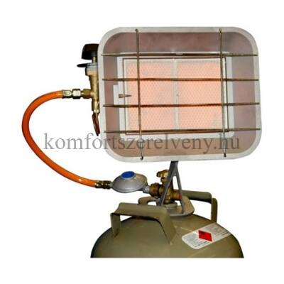 Gáz hősugárzó palackra szerelhető 3,4kW