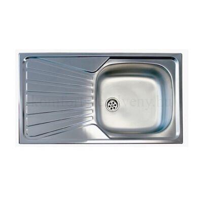 Mofém EVO 1B 1D mosogatótálca 1 medence+csepegtető tálca 780 x 435 mm